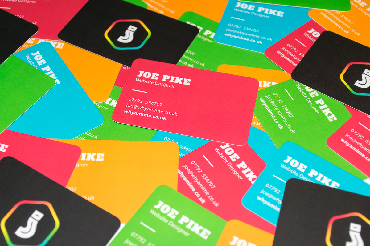 business card web design London