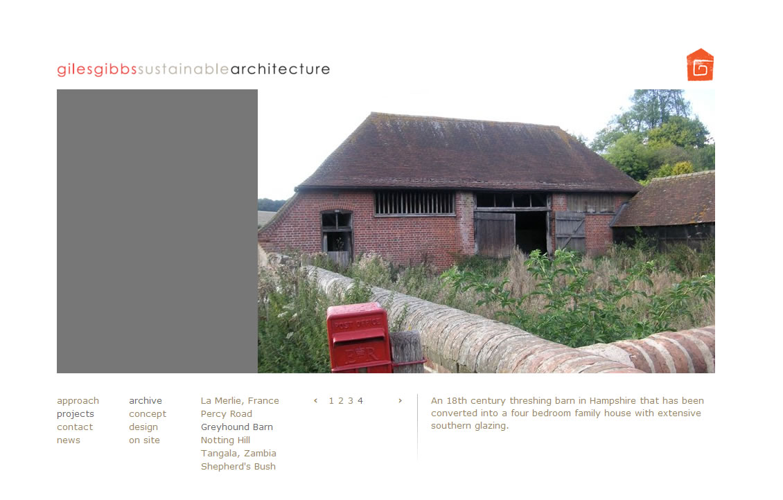 Giles Gibbs archive page