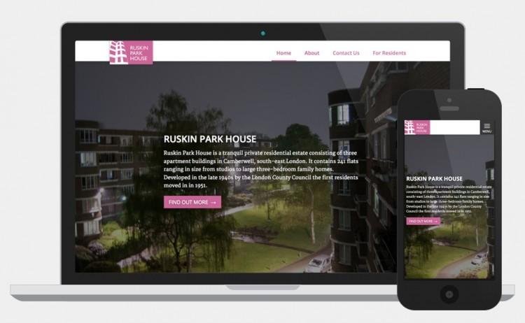 Ruskin Park House website