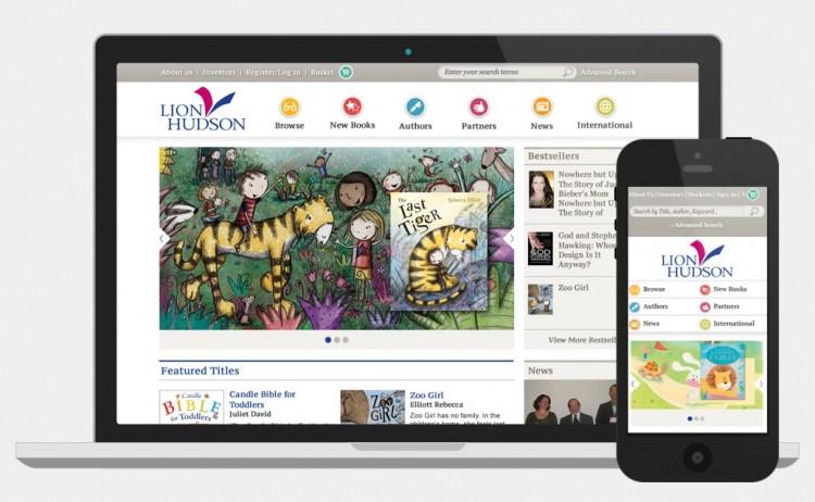 Lion Hudson website screenshot