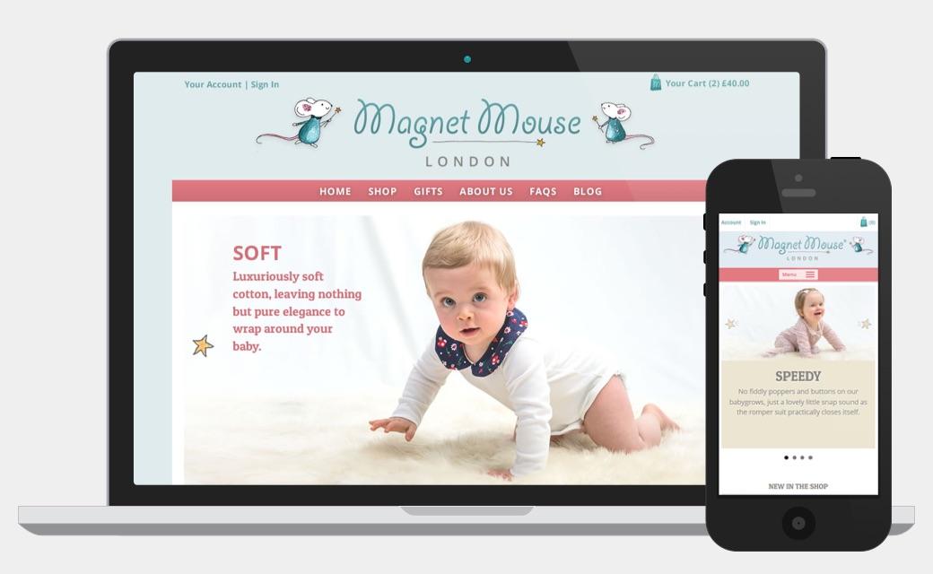 Magnet Mouse website screen shot
