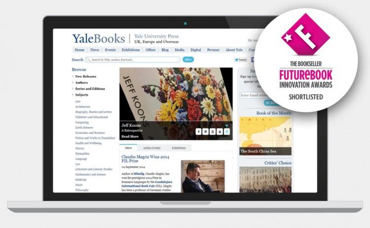 Yale Books website screenshot